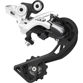 Shimano Deore XT RD-M781 Shadow Bagskifter 10-speed direkte montering, silver